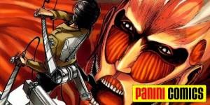 Shingeki no Kyojin será publicado no Brasil pela Panini - rádio animes Z